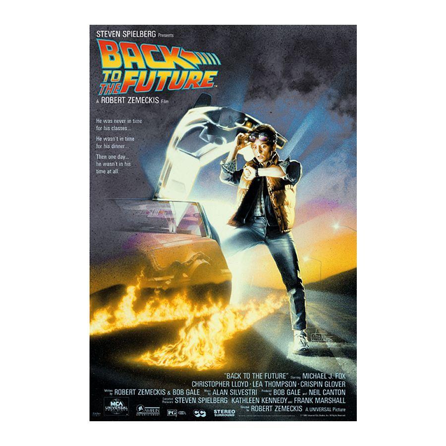 Zurück in die Zukunft Poster - Poster Großformat jetzt im Shop ...