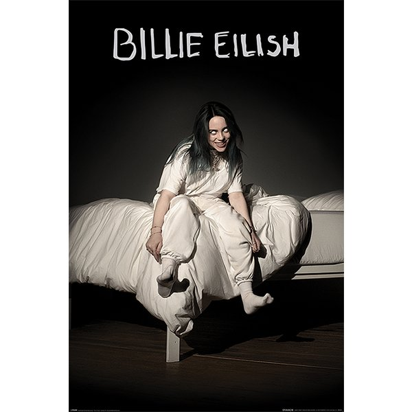 Billie Eilish Poster When We