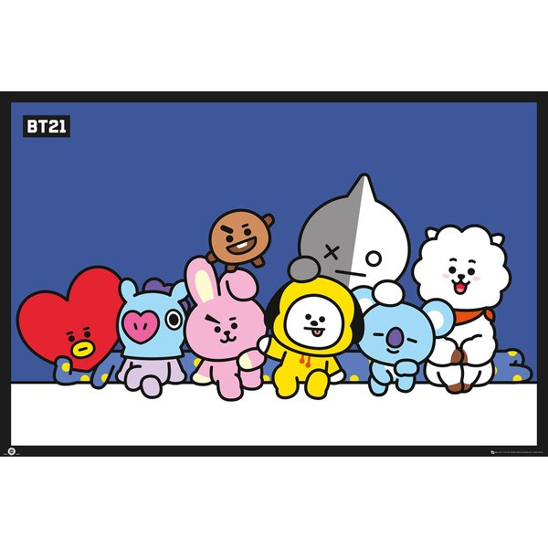 BT21 Poster Group