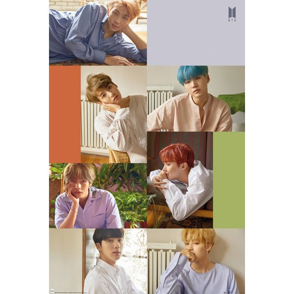 BTS Poster Group Collage