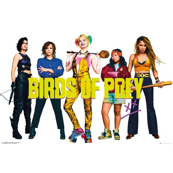Birds of Prey Poster Group