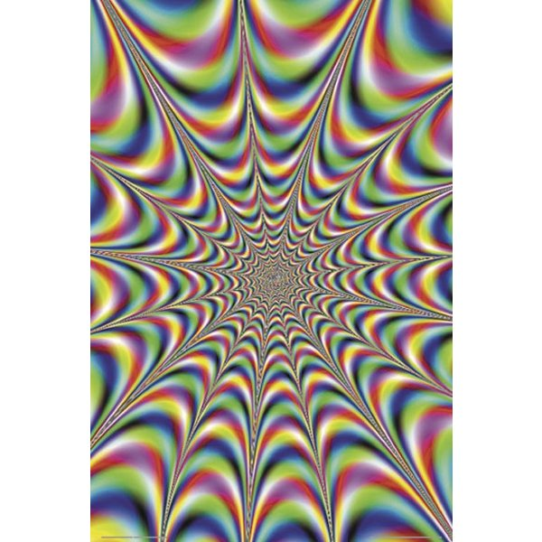 Fractal Illusion Poster