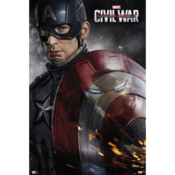 Captain America Poster Civil