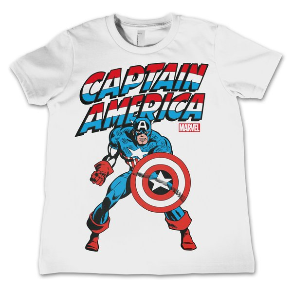 Captain America Kid's T-Shirt