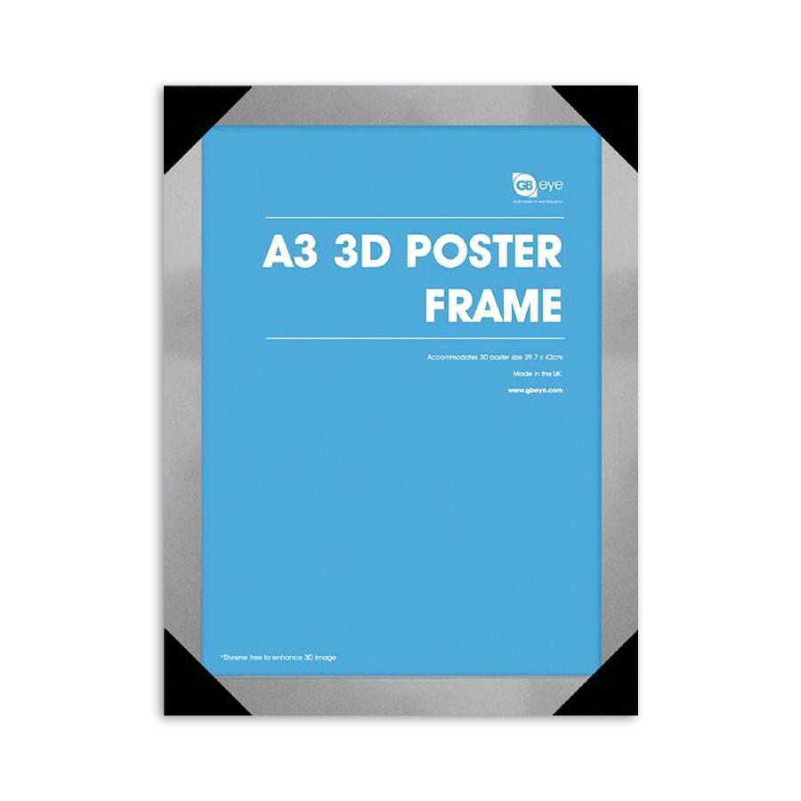 Rahmen für 3D Lentikulardrucke 29,7 X 42cm (Din A3) - Posterrahmen ...