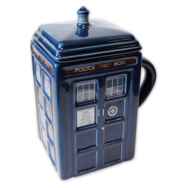 Doctor Who Tasse Tardis