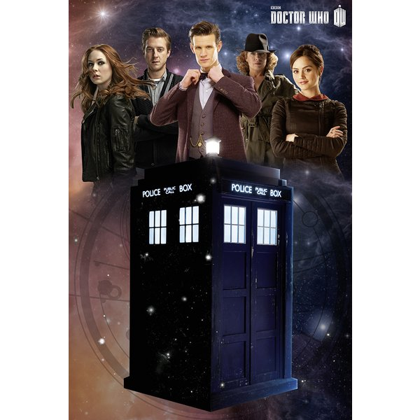 Doctor Who Poster Tardis