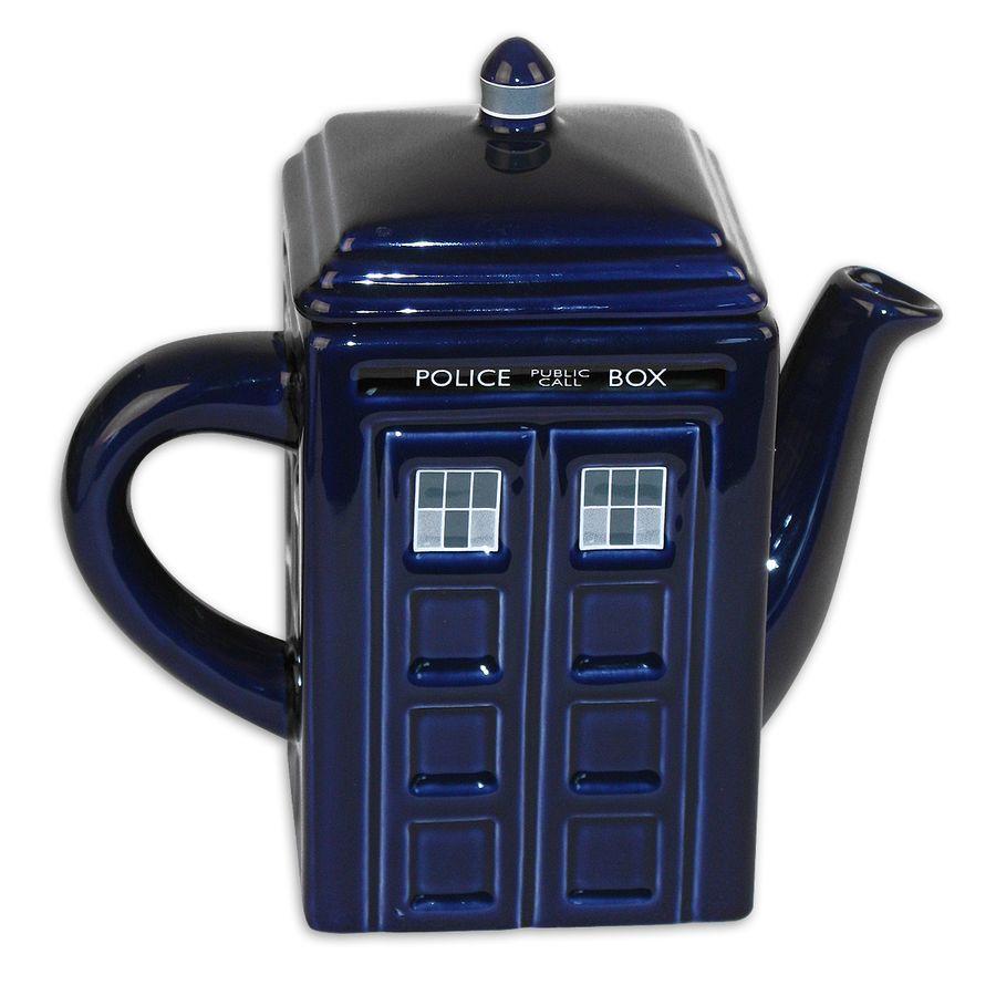 Doctor Who Teekanne Tardis Aus Keramik Tassen Glaser Schalen