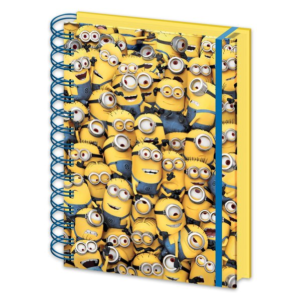 Despicable Me 3 3D Notizbuch