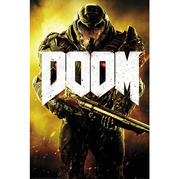 Doom 4 Poster Key Art