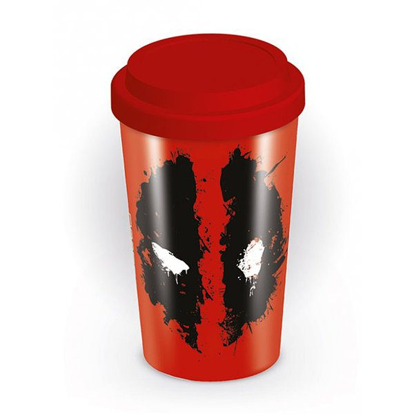 Deadpool Travel Mug Splat