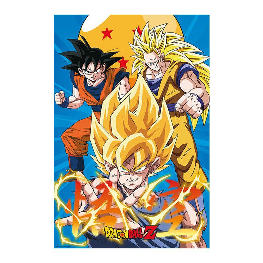 Dragonball Z Poster 3 Gokus Evo Poster Großformat Jetzt Im Shop