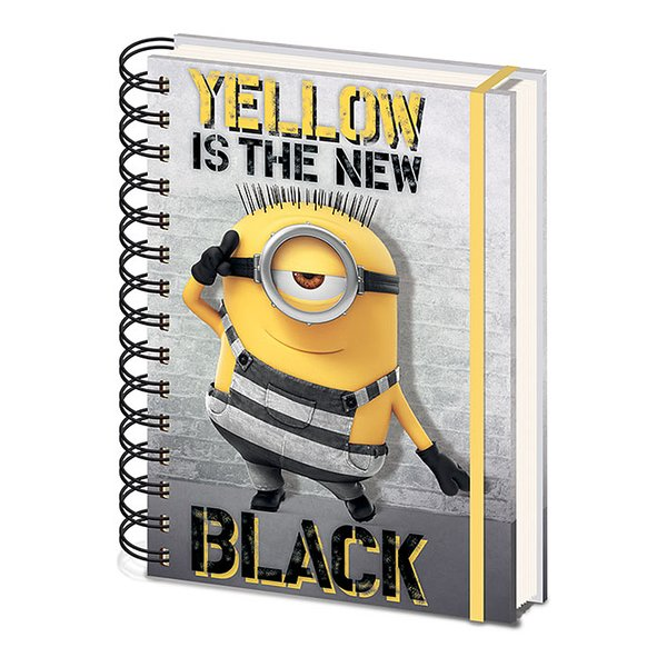 Despicable Me 3 Notizbuch DIN
