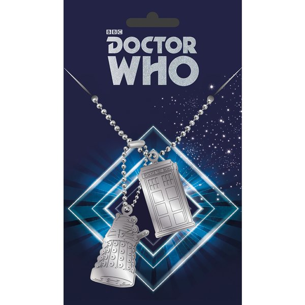 Doctor Who Dog Tag