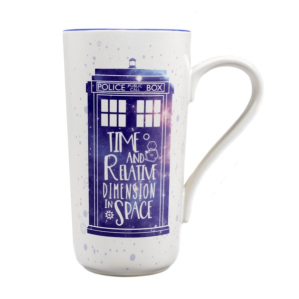 Doctor Who Latte Macchiato