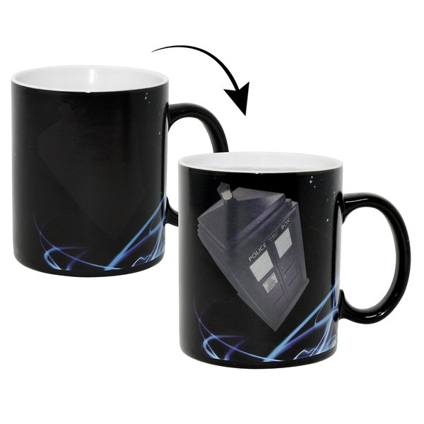 Doctor Who Thermoeffekt-Tasse