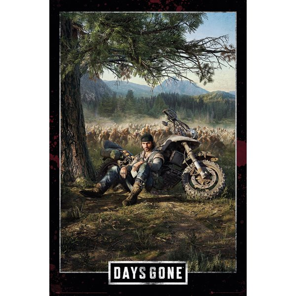 Days Gone Poster Key Art Cover