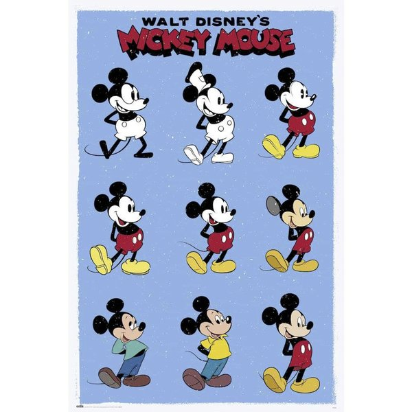 Disney Mickey Mouse Poster