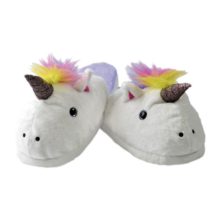 Hausschuhe Unicorn Slippers Einhorn Unicorn Slippers