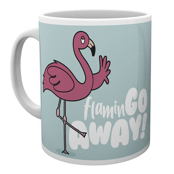 Flamingo Tasse Go Away