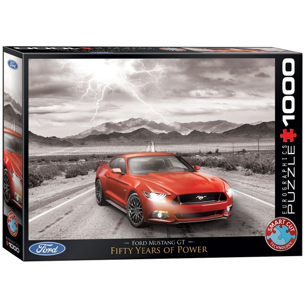 Ford Mustang GT Puzzle