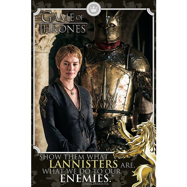 Game of Thrones Poster Cersei