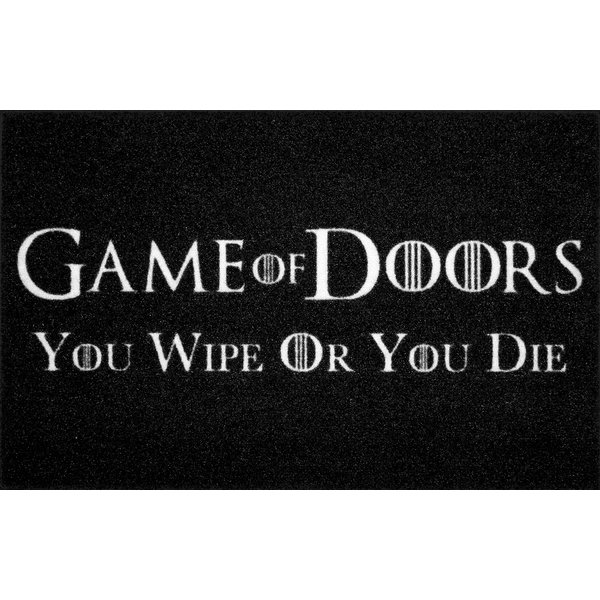 Game of Doors Fußmatte You