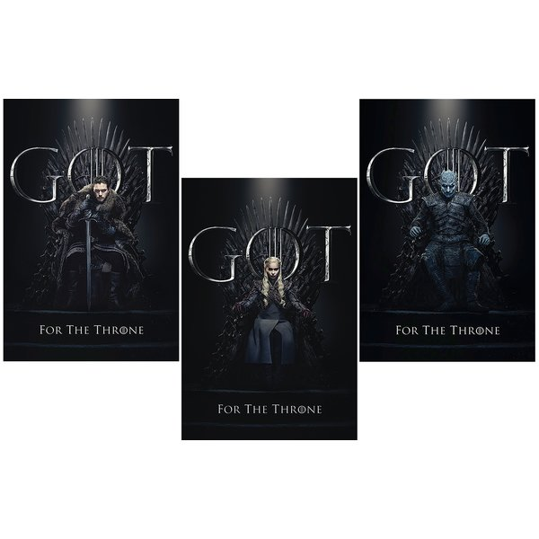 Game of Thrones Poster 3er-Set