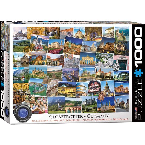 Globetrotter Germany Puzzle