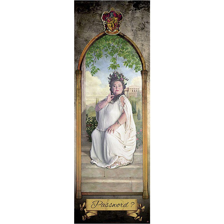Harry Potter Die Fette Dame Gryffindor Poster 158x53 Cm Close Up