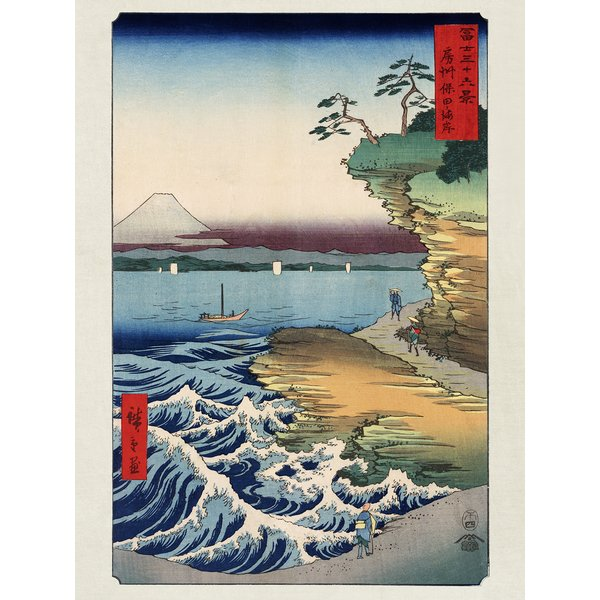 Hiroshige Kunstdruck The Coast