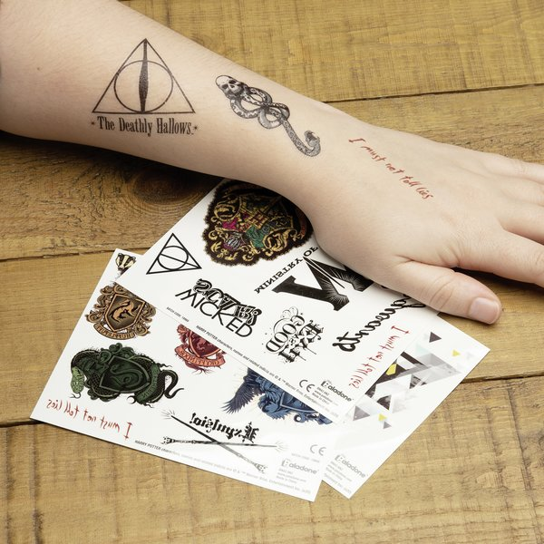 Harry Potter Tattoos Temporary
