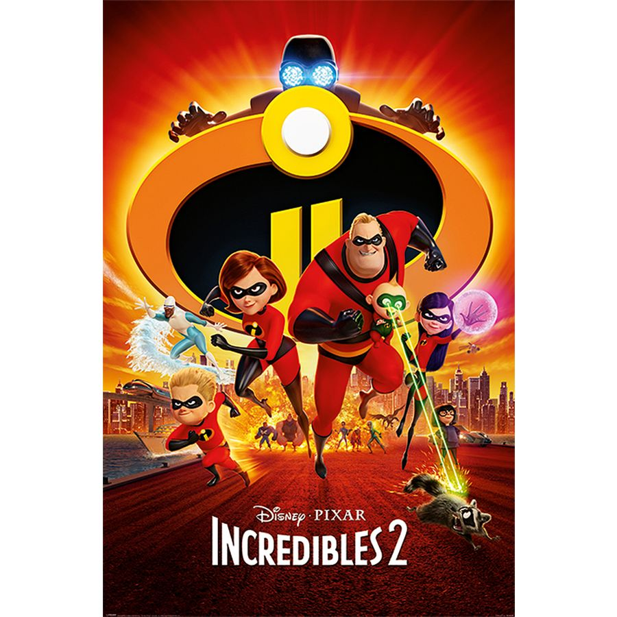 incredibles 2 poster one sheet poster gro format jetzt im shop bestellen close up gmbh. Black Bedroom Furniture Sets. Home Design Ideas