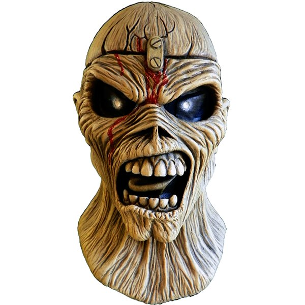 Iron Maiden Latex Maske Piece