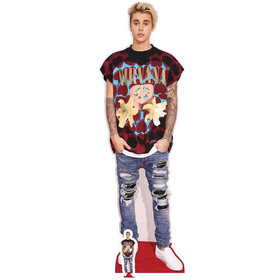 Justin Bieber Pappaufsteller Ripped Jeans Pappaufsteller Jetzt Im