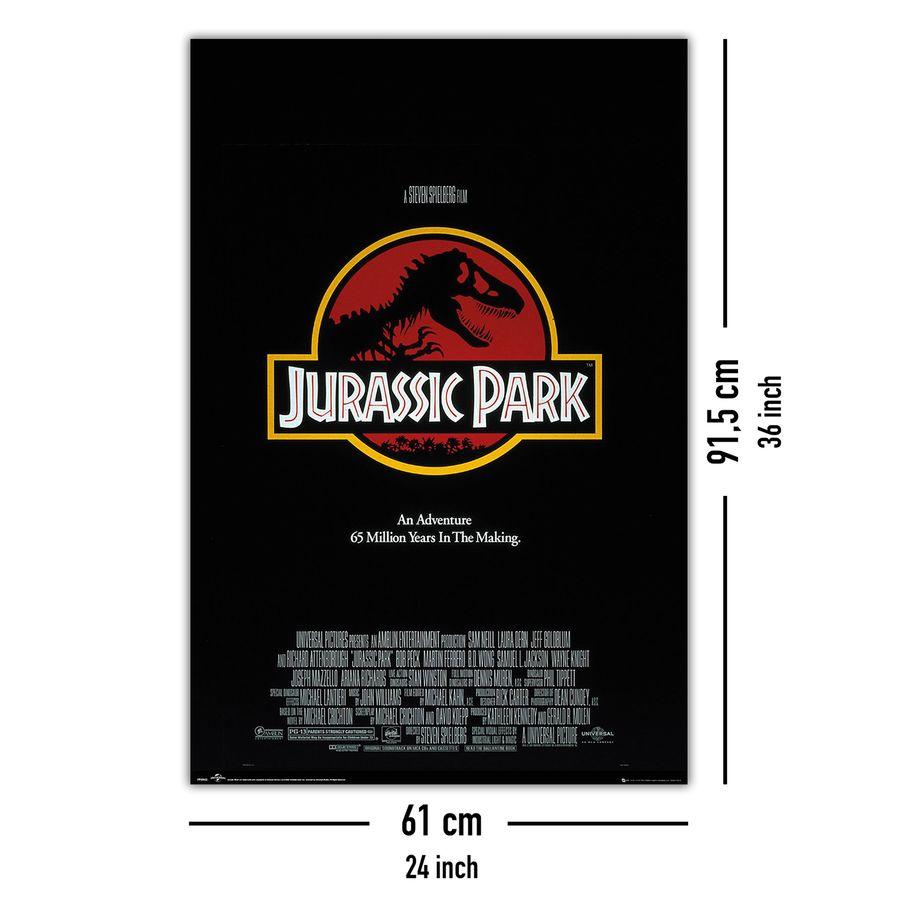 Jurassic Park Poster Key Art - Poster Großformat jetzt im Shop bestellen  Close Up GmbH