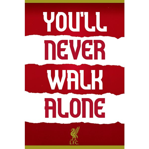 Liverpool FC Poster Quote