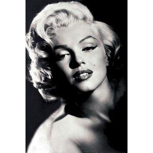 Marilyn Monroe Kunstdruck Motion Picture Daily B W Foto