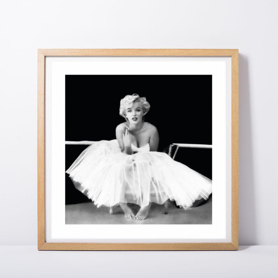 marilyn monroe ballet dancer poster kleinformat jetzt im shop bestellen close up gmbh. Black Bedroom Furniture Sets. Home Design Ideas
