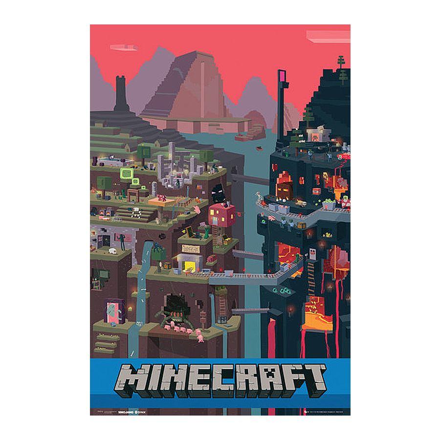 Coole Minecraft Poster & Kunstdrucke im Fanshop erhältlich