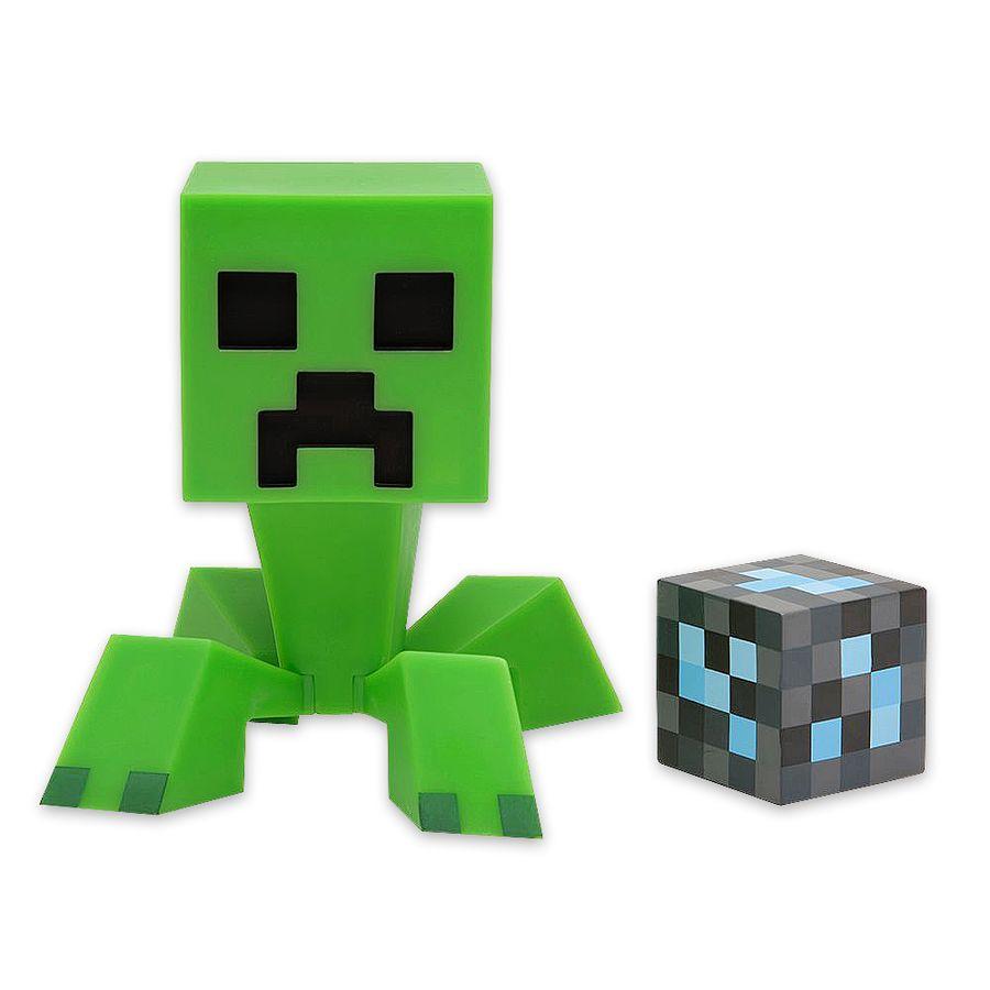 Minecraft Figur Creeper mit Diamantenblock - Figuren jetzt im Shop ...
