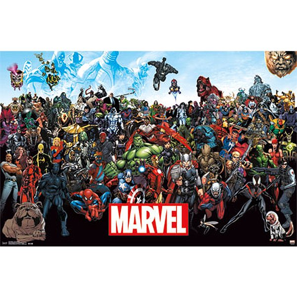 Marvel Poster Line Up 15