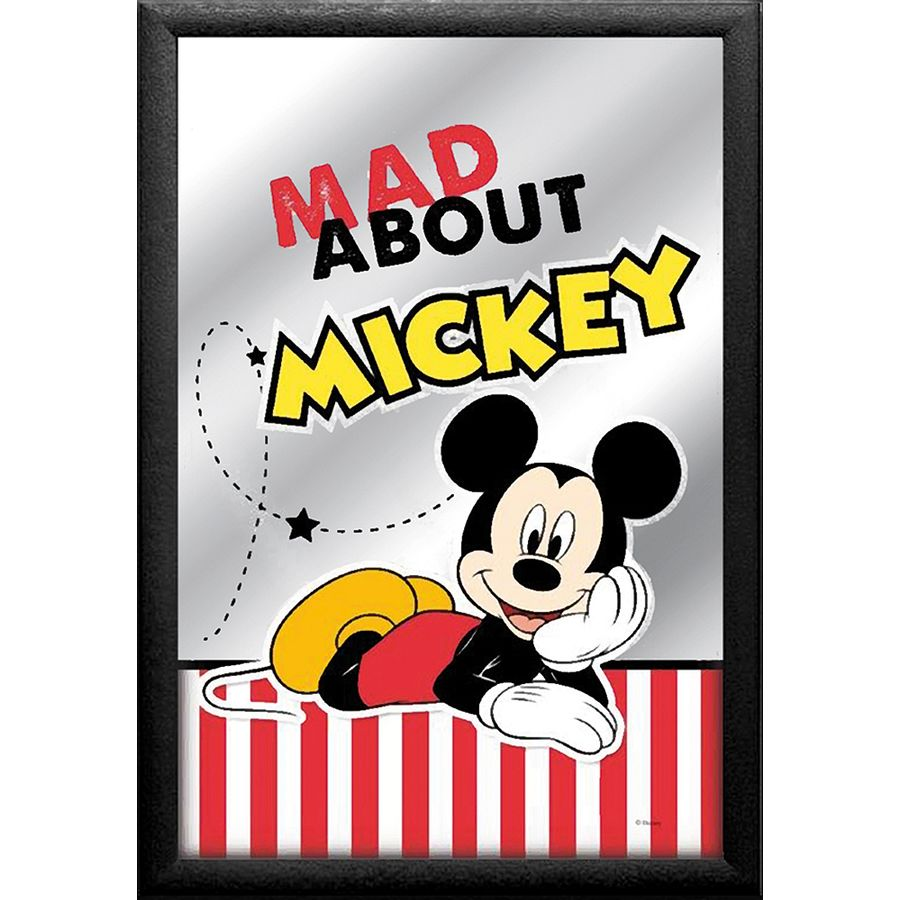 micky maus spiegel mad about mickey bei close up kaufen. Black Bedroom Furniture Sets. Home Design Ideas