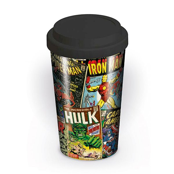 Marvel Travel Mug Retro Comic