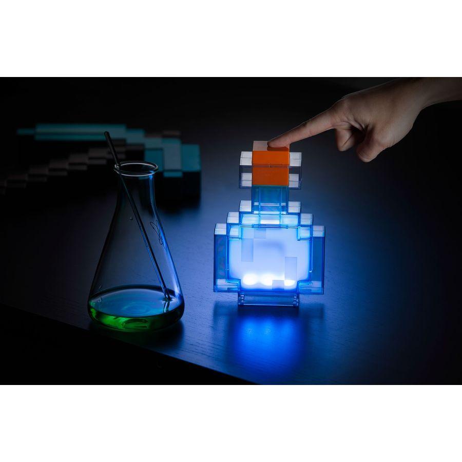 Minecraft LED Potion Bottle Zaubertrank Leuchte
