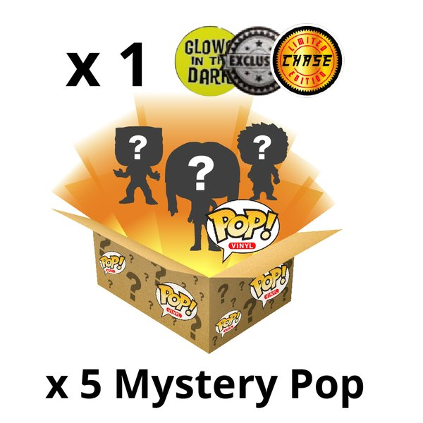 Mystery Box Funko! incl. CHASE