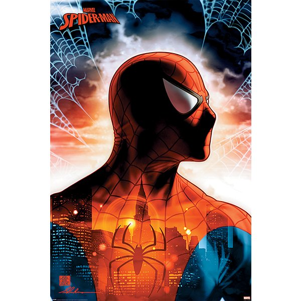 Marvel Comics Spiderman Poster