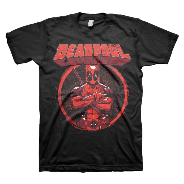 "Marvel T-Shirt Deadpool ""POSE"""