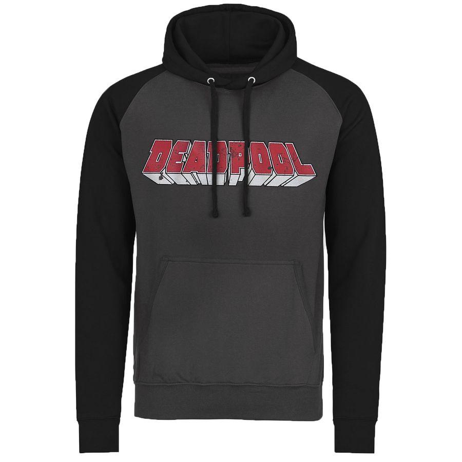 Marvel Hoodie Deadpool Logo