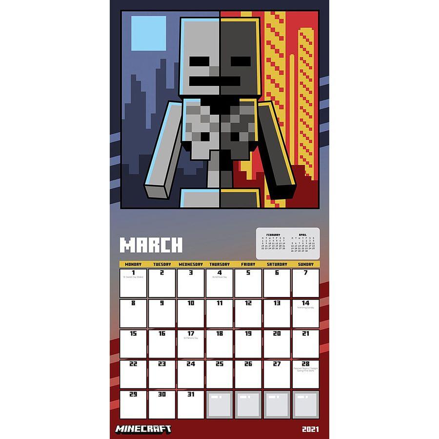 Minecraft Kalender 8 - Kalender 8 jetzt im Shop bestellen